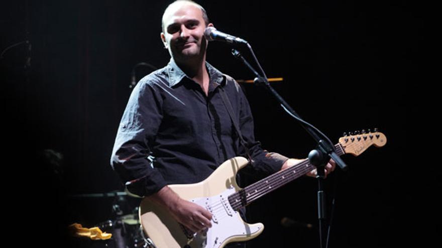 El guitarrista Joan Miquel Oliver