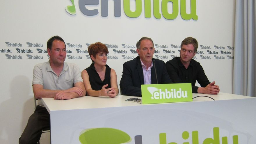 """EH Bildu aboga por un gobierno """"cuatripartito"""" en Navarra, sin la participación del PSN"""