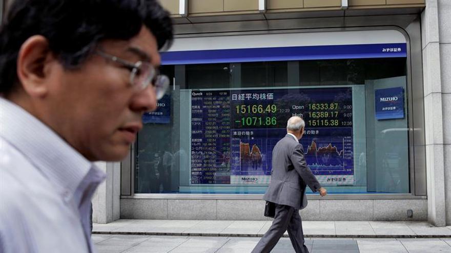 Tokio abre con una subida del 0,78 por ciento hasta los 16.593,75 puntos