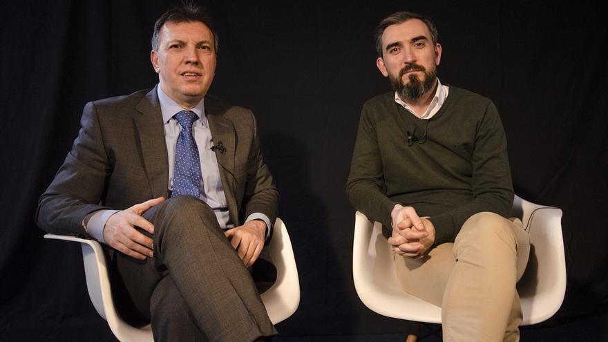 Joaquim Bosch e Ignacio Escolar