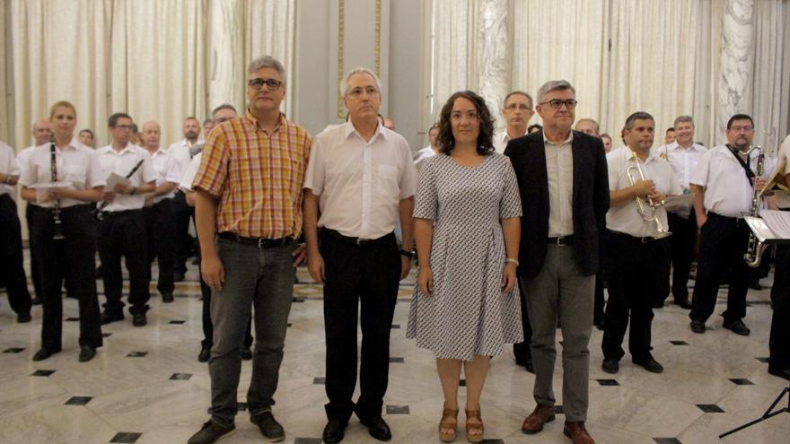 Presentación del Certamen Internacional de Bandas en València en 2017