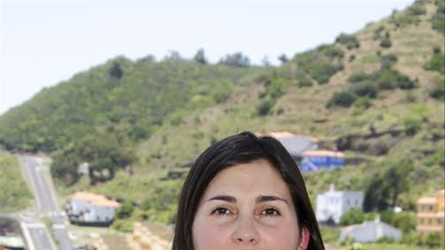 Goretti Pérez Corujo, portavoz del grupo Socialista en el Ayuntamiento de Mazo.