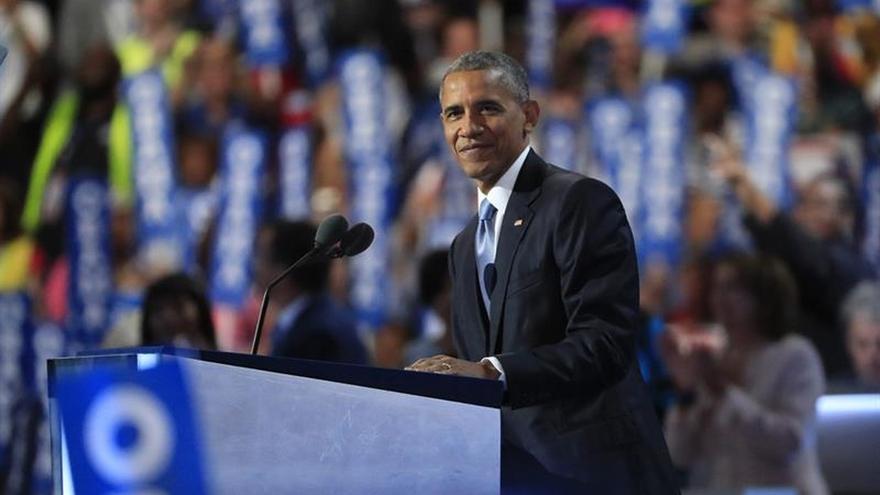 """Obama: EE.UU. es un país """"lleno de coraje y optimismo"""""""