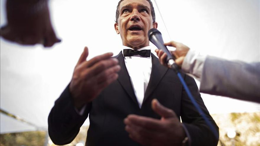 """'The 33' es un poema a la vida"", dice Antonio Banderas"