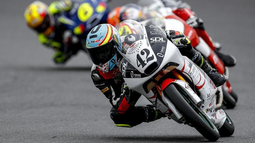 Marcos Ramírez, el piloto de Conil, que está siendo la gran sorpresa del Mundial en Moto3
