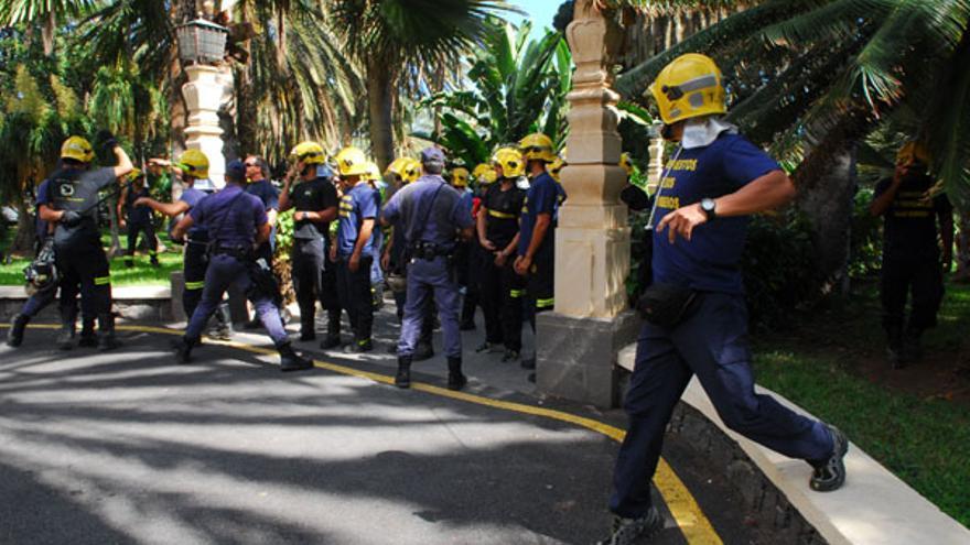 De la protesta de los bomberos #4