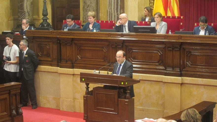 """Iceta (PSC) cree que el texto de JxSí-CUP es el """"eufemismo"""" de una independencia unilateral"""