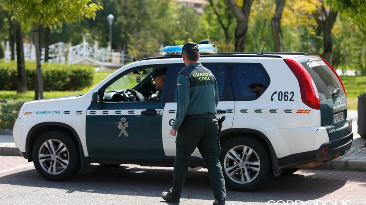 Una patrulla de la Guardia Civil en Córdoba.