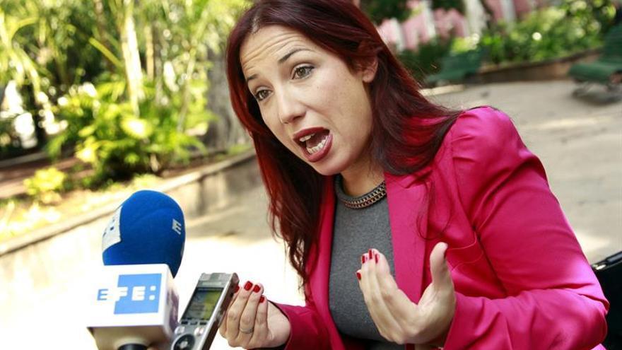 La candidata del PSOE a la Presidencia del Gobierno de Canarias, Patricia Hernández. EFE/Cristóbal García