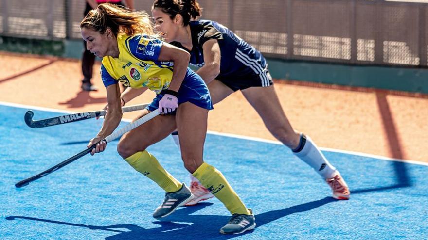 Acción del encuentro en el Anexo Estadio Gran Canaria
