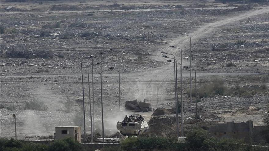 Mueren un capitán y un sargento egipcios en un ataque en el Sinaí