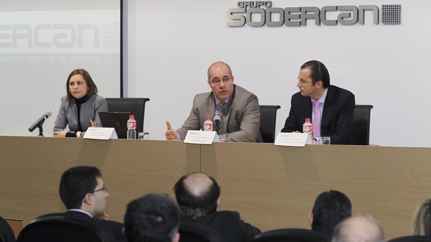 Cristina Fanjul, José Luis Sánchez y Jesús de las Cuevas.