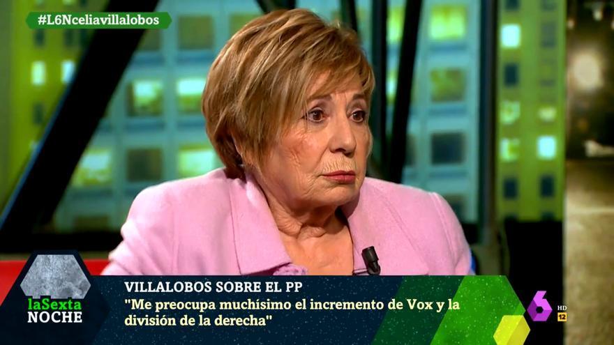 Celia Villalobos en 'laSexta Noche'