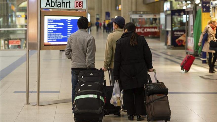 Los maquinistas alemanes inician una huelga de cuatro días en el transporte de viajeros