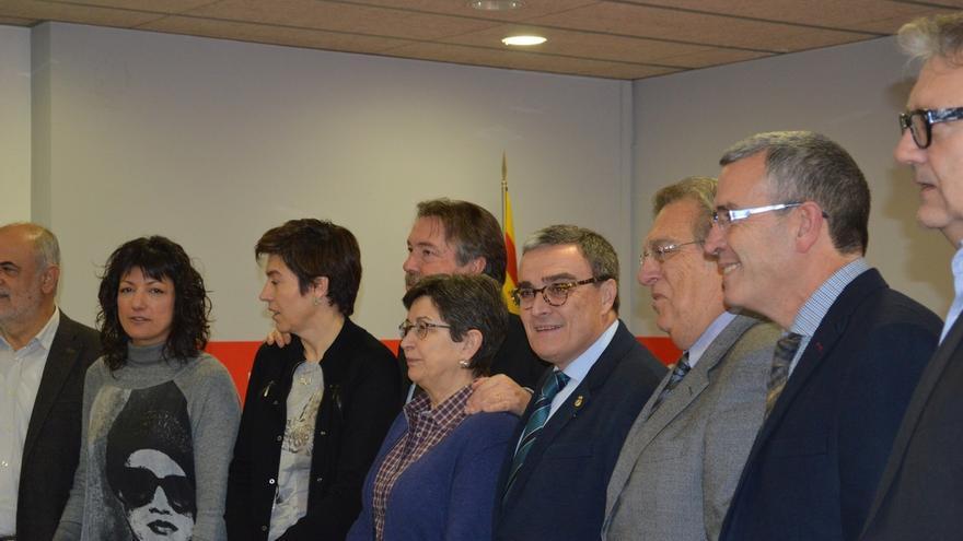 El PSC constituye una comisión gestora para hacerse cargo del partido en Lleida