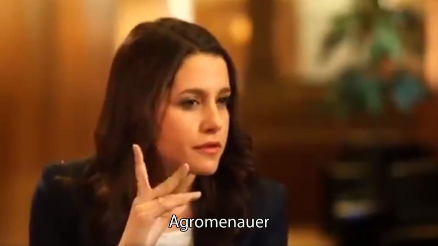 Inés Arrimadas hablando como Chiquito de la Calzada