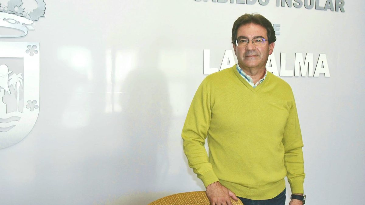 José Adrián Hernández, vicepresidente del Cabildo de La Palma y consejero de Agricultura, Ganadería y Pesca.