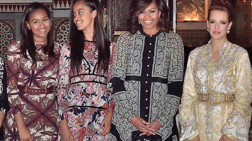 El regalo más caro recibido por Obama en 2016 fue un obsequio de Mohamed VI