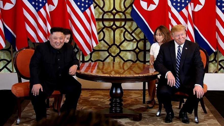 Trump dice que se retiró de la cumbre con Kim porque le pidió levantar todas las sanciones