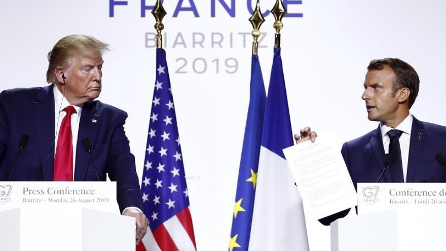Macron espera una reunión entre Rohani y Trump en las próximas semanas