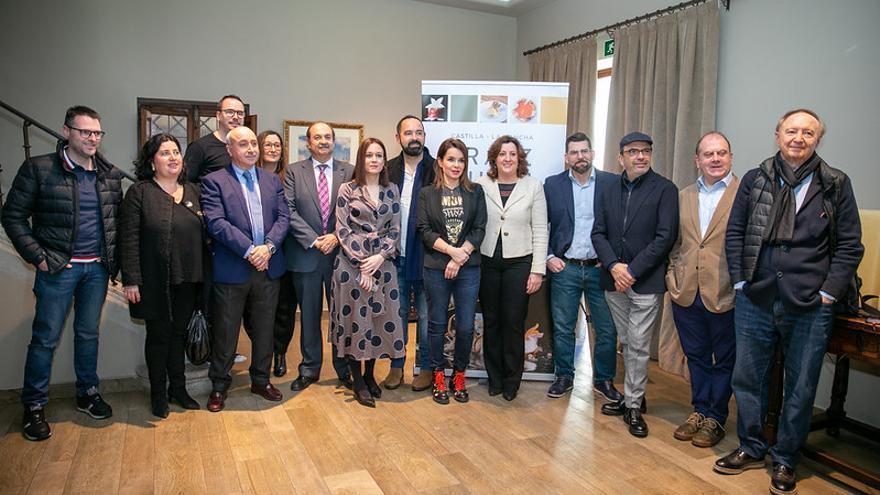 Algunos de los participantes en la Jornada