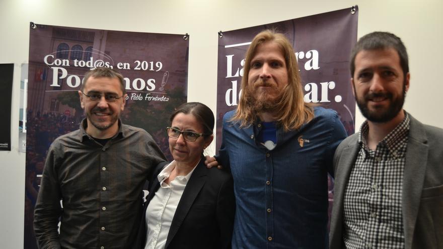 """Monedero acusa a Cifuentes de obrar con el mismo criterio que Aguirre y de padecer el """"síndrome de la infanta"""""""