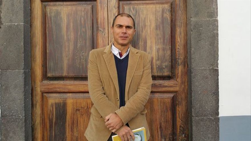 José María Pestana es alcalde de Villa de Mazo. Foto: LUZ RODRÍGUEZ.