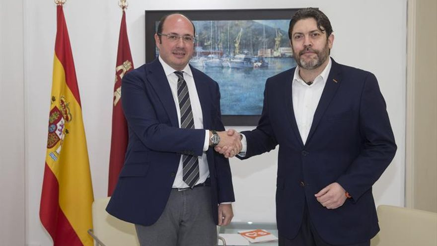 Ciudadanos rompe con el PP en Murcia y abre el diálogo con el PSOE
