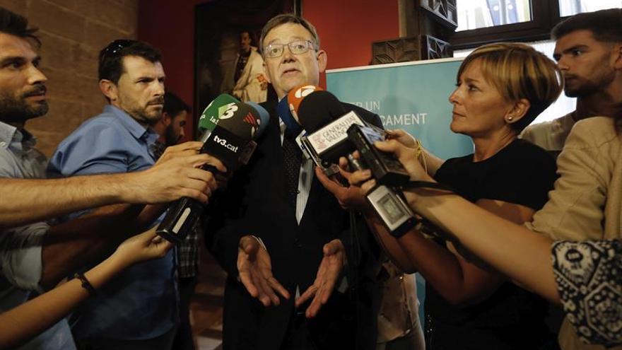 Puig afirma que la dirección no es la única garante de un no al PP