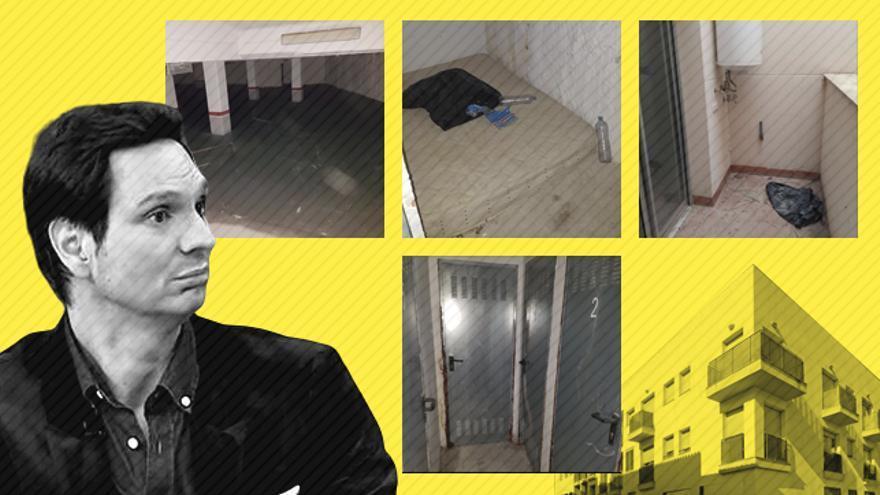 La casa que sorteó Cárdenas era un bajo con deudas, okupas e inundaciones