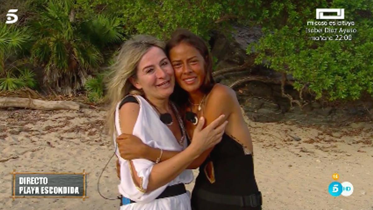 Melyssa y su madre en 'Supervivientes 2021'