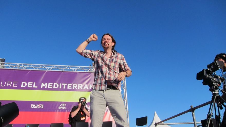 Pablo Iglesias reúne mañana a la militancia para defender su modelo de Podemos, la víspera del Consejo Ciudadano