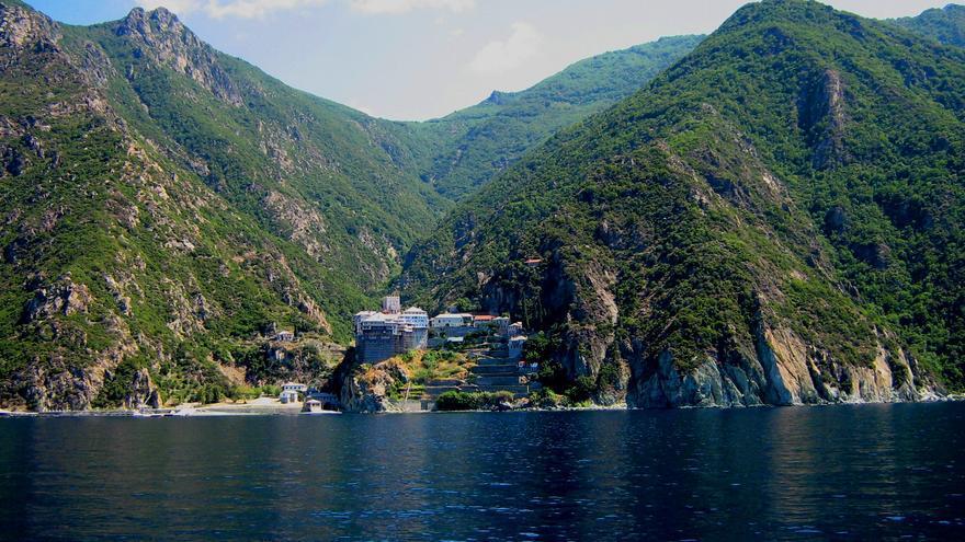 Monte Athos en Grecia