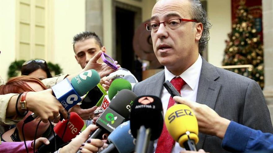 El consejero de Sanidad del Gobierno de Canarias, Jesús Morera.