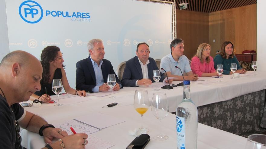 """Sanz asegura que el PP """"ha sido el único partido que ha recuperado votos"""" y pide """"que dejen a Rajoy conformar Gobierno"""""""