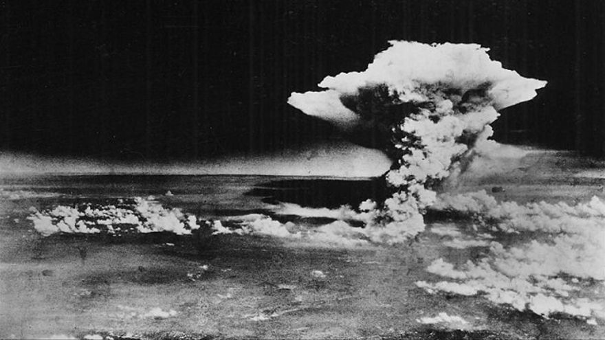Imagen de la bomba de Hiroshima