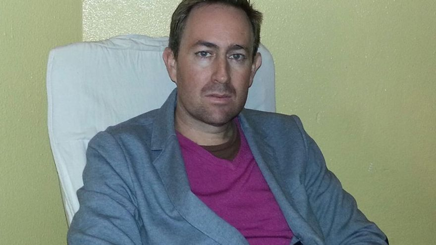 El autor del libro, Pedro Juan Ramírez.