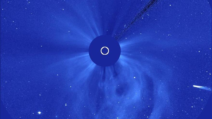 La NASA cree que el núcleo del cometa ISON ha sobrevivido al encuentro con el Sol