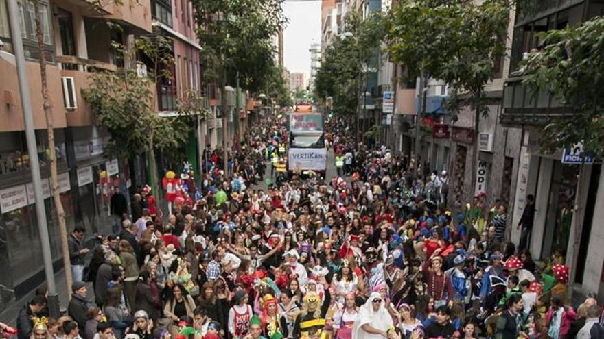 Gran Cabalgata del Carnaval de Las Palmas de Gran Canaria. EFE/Ángel Medina G