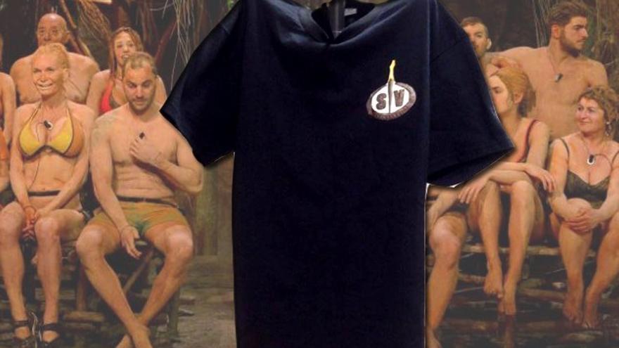 ¡Regalamos la camiseta oficial de 'Supervivientes'!
