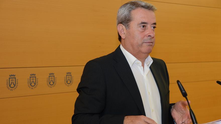 Aurelio Abreu, durante su comparecencia ante la prensa.
