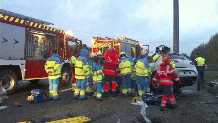 Fallece una joven de 27 años en un accidente de tráfico en San Brunete