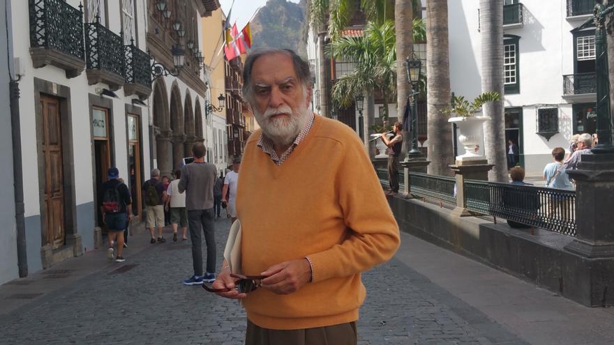 Luis Martín Herrera es presidente de la Sociedad Económica de Amigos del País. Foto: LUZ RODRÍGUEZ