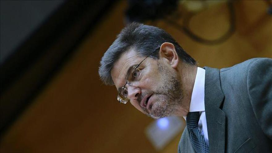 Catalá subraya el compromiso del Gobierno con la reparación de las víctimas