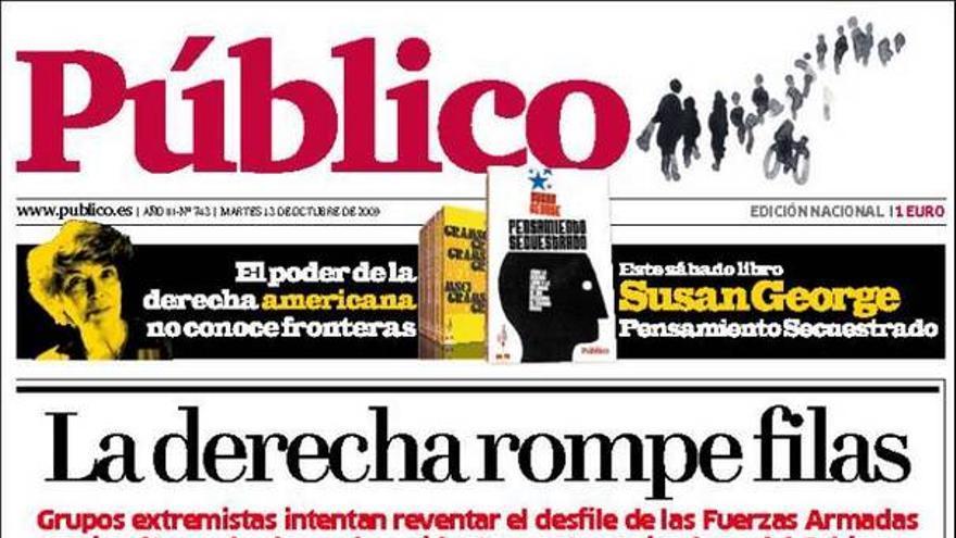 De las portadas del día (13/10/09) #1
