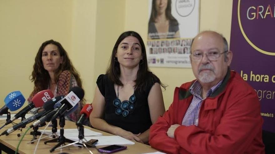 Dos ediles de Vamos Granada presentan un escrito para sustituir a la portavoz municipal en la capital