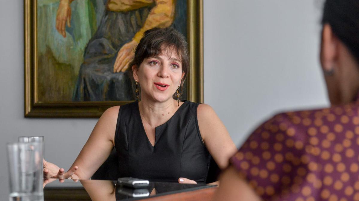 Mercedes D'Alessandro, directora Nacional de Economía, Igualdad y Género