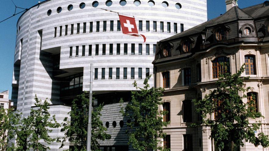 Sede bancaria en Suiza