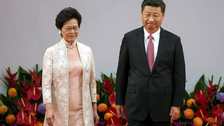 Carrie Lam elude comprometerse con las libertades en Hong Kong