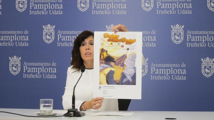 """El PSN censura la """"utilización política"""" del Olentzero de la Milagrosa por incluir simbología """"de los presos de ETA"""""""